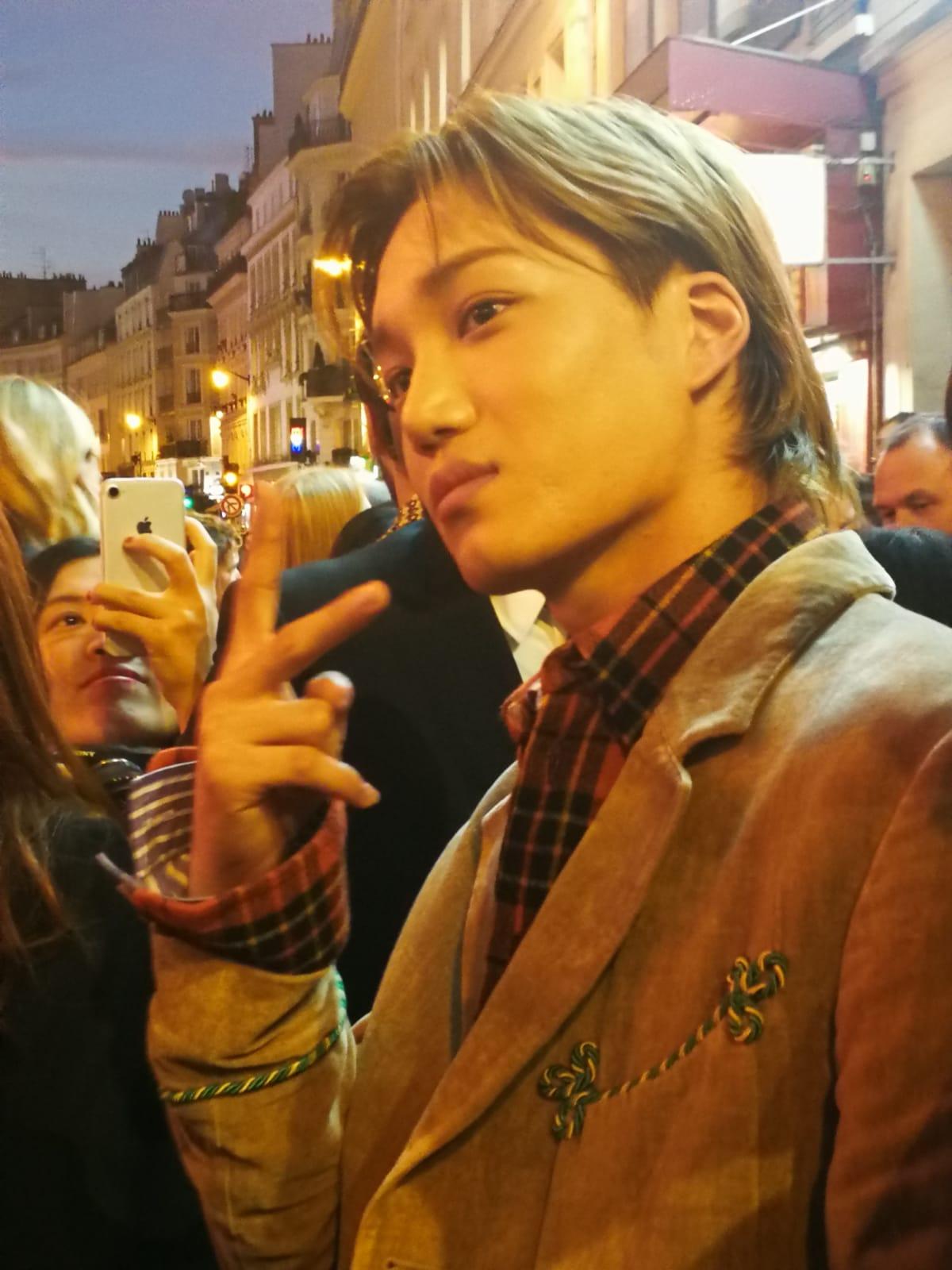Kai, EXO, Gucci, Paris Fashion Week