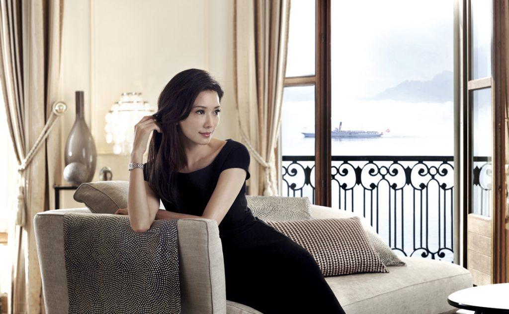 台湾名模兼女星林志玲诠释DolceVita代表的优雅气质。