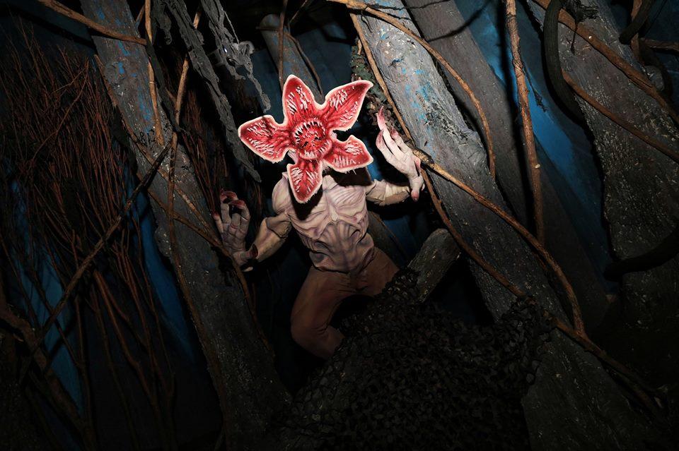 halloween horror night, universal studio singapore